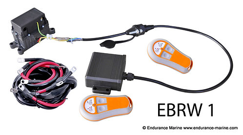 EBRW1 Wireless Winch Remote With Battery Cables