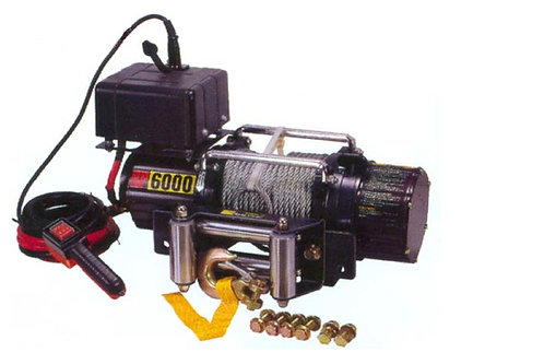 EV 6000 Recovery Winch