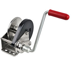 1200 lbs Stainless Steel Hand Winch with Auto Brake
