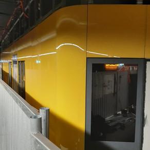 Betoglass-Fassade S-Bahn-Station Ffm-Hauptwache