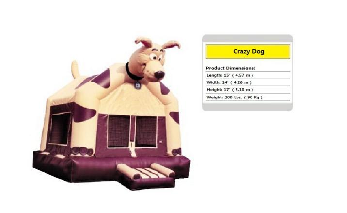 Crazy Dog Bounce House