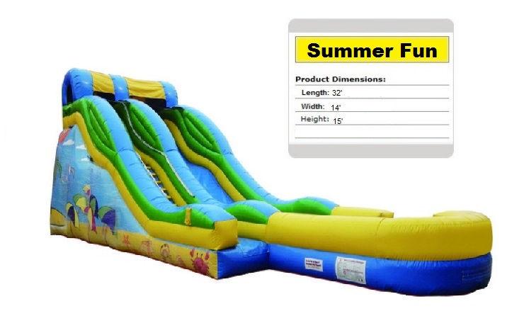Summer Fun Water Slide