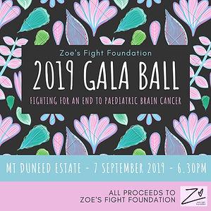 Zoe's Fight 2019 Gala Ball - TICKET PROM
