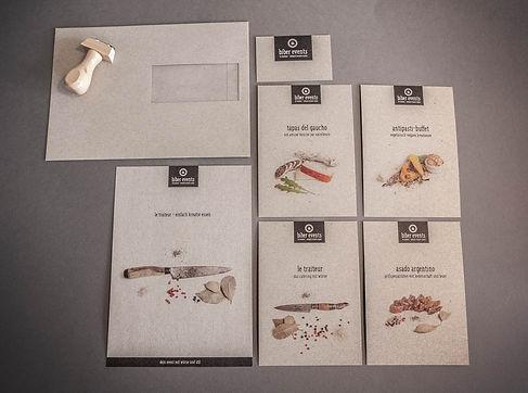 biberevents Flyer/Karten/Kuvert