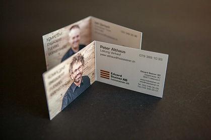 Eduard Steiner AG Visitenkarten