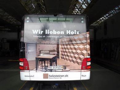 Eduard Steiner AG Busbeschriftung