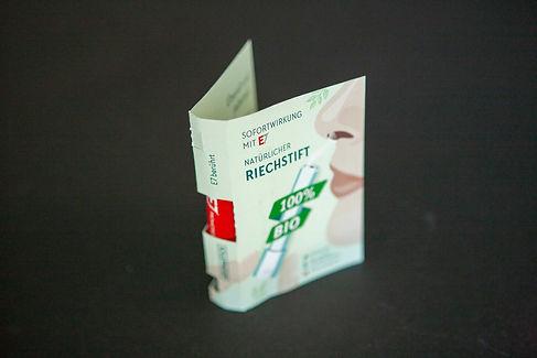 E7 Promotion Engergy Stick Umschlag
