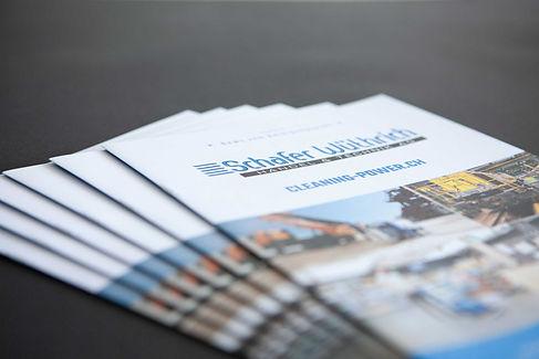 Schafer Wüthrich Kundenzeitschrift Umschlag