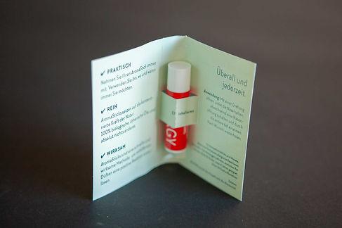 E7 Promotion Engergy Stick Umschlag offen
