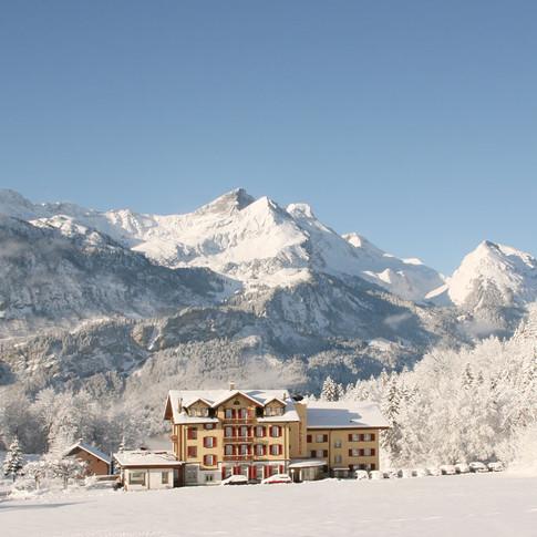 Bellevue im Winter