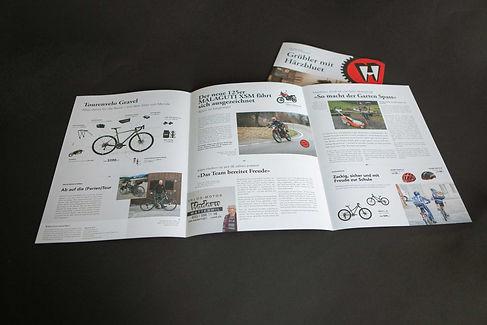 Hadorn Velos Motos Kundenzeitschrift Innenseiten