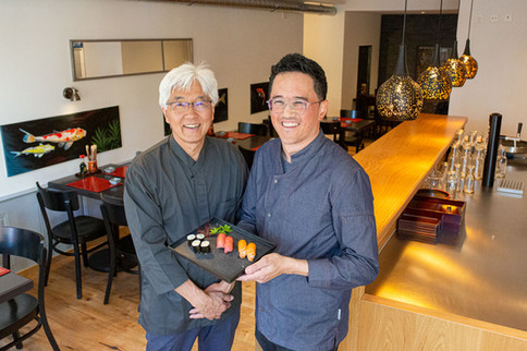 Shinji und Seiji Tanaka
