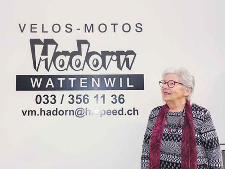 Käthi Hadorn ist seit 58 Jahren präsent
