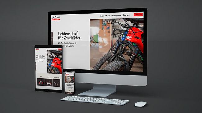 Hadorn Velos Motos Webseite