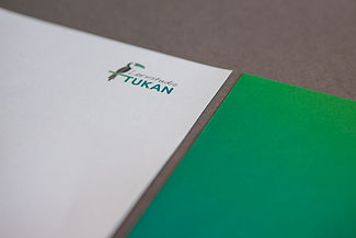 Tukan Logo Briefpapier