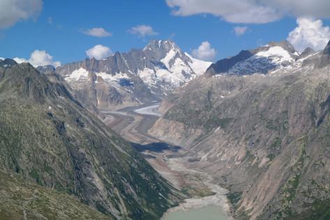 Gletscher in der Nähe