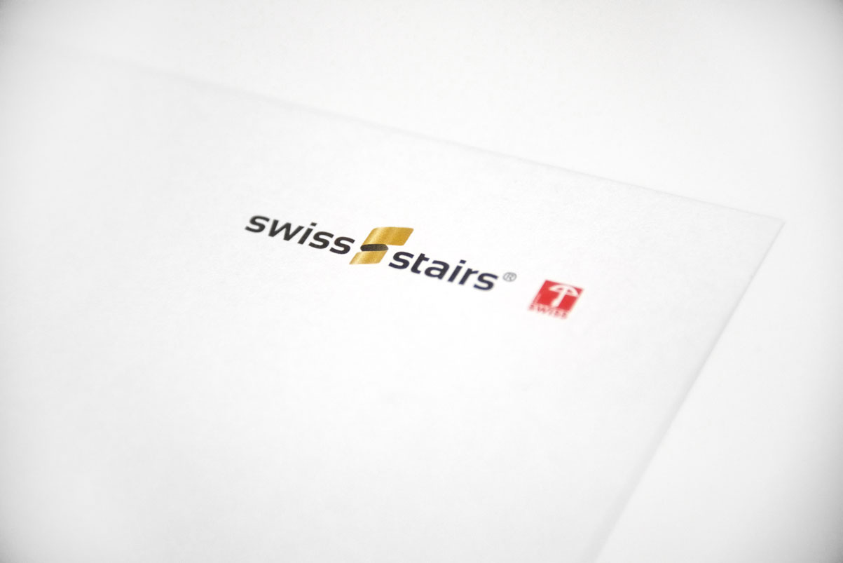 Logo auf Briefpapier