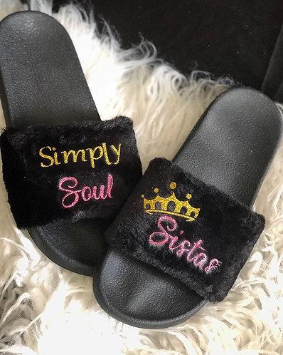 The Original 'SimplySoulSistas' Slippers