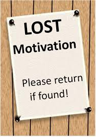 Lost Motivation is a GOOD Sign