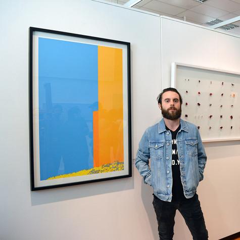 Exposición finalistas Concurso Arte Joven Universidad de Valparaíso en Sala el Farol