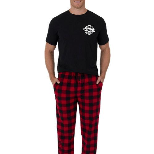 Men's Short Sleeve Pajama Set