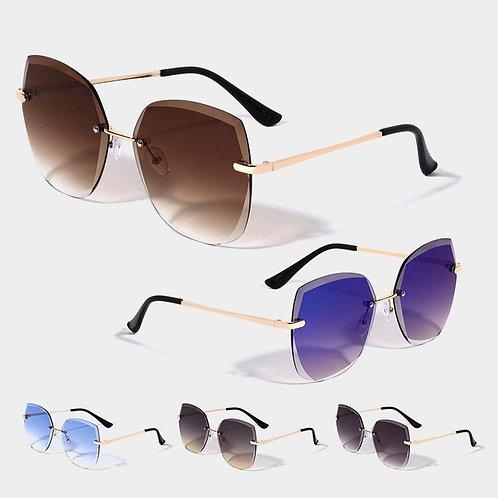Chic Frameless Rimless Sunglasses