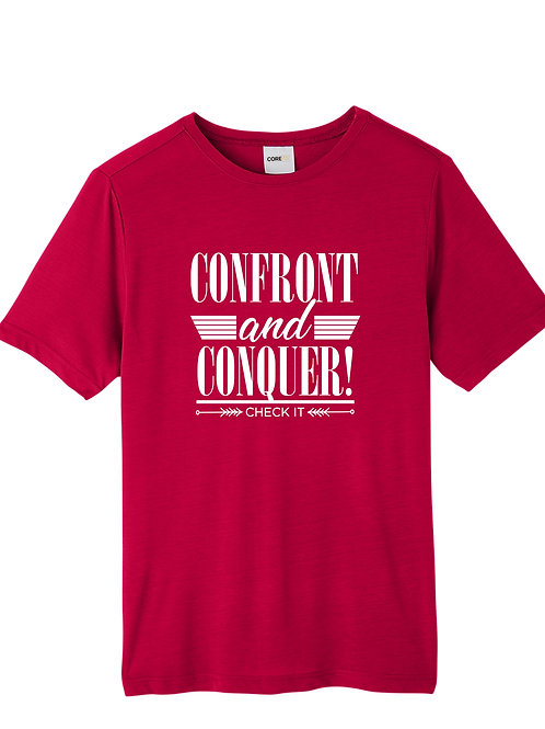 Confront & Conquer Short Sleeve Tee