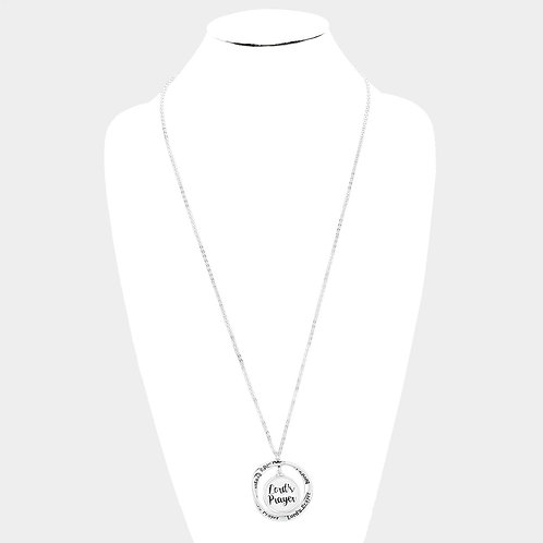 Lord's Payer Long Necklace