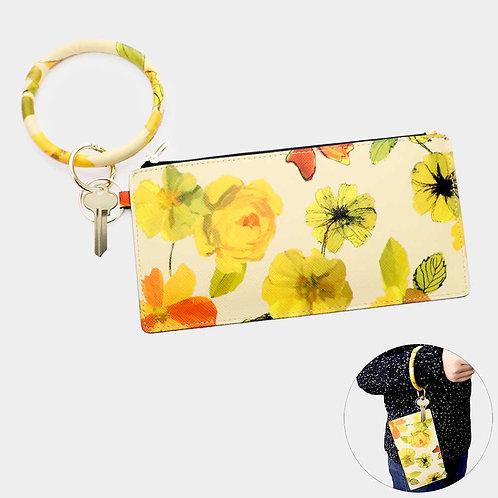 Flower Key Chain / Bracelet Bag