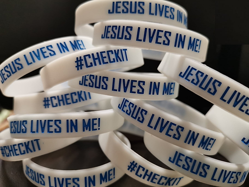 Jesus Lives In Me Bracelet