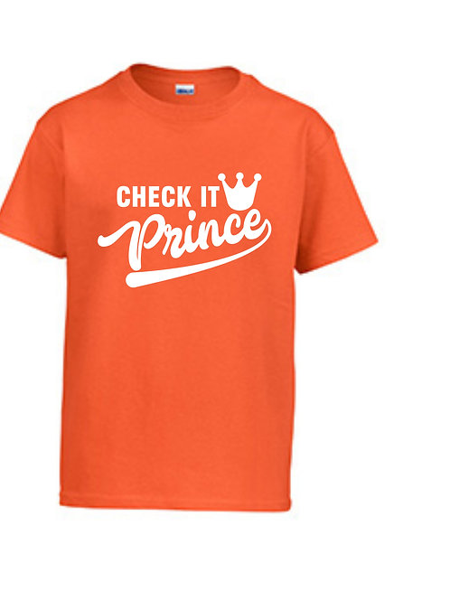 Prince Check It Short Sleeve Tee