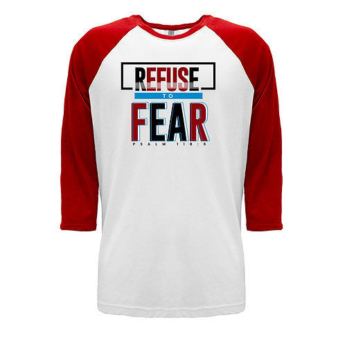 Kids Refuse To Fear 3/4 Sleeve