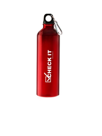 Check It Water Bottle