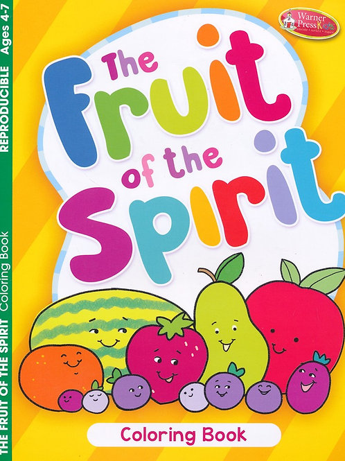 Fruit of the Spirit Coloring Book, Ages 4-7