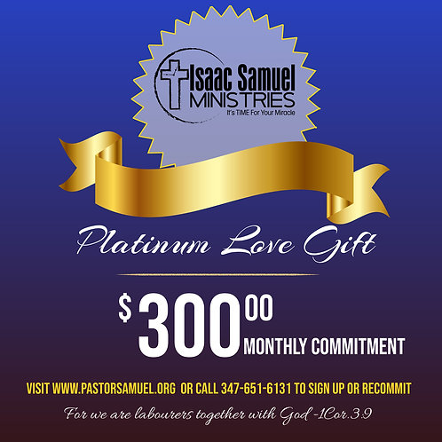 Platinum Love Gift