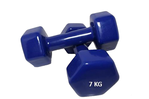 Sports Group Vinyl Dipping Dumbbell 7 KG/pair