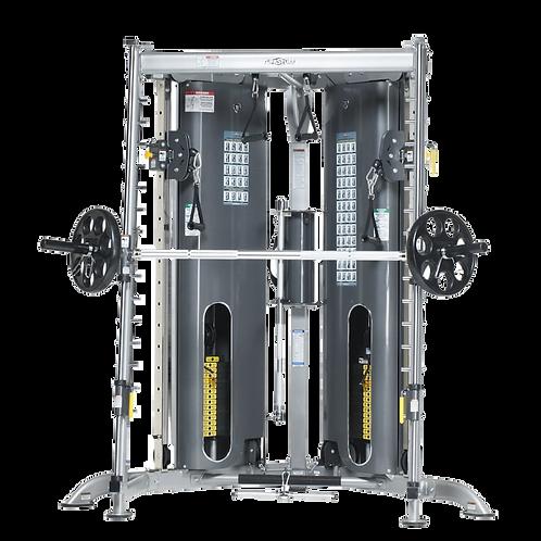 TuffStuff Corner Multi-Functional Trainer with Smith Press Attachment