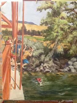 Boise River Bridge Fun