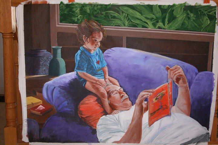 Papa Reading
