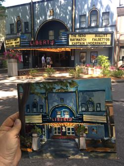 Downtown Camas - Liberty Theater