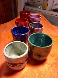 Assorted Set of Tea Cups