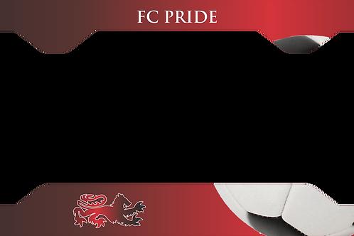 FC Pride License Plate Frame