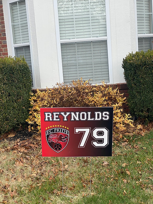 Single-Sided Yard Sign
