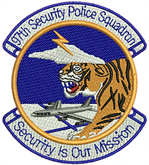 Embroidered Patch - 97th SPS (See below for details)