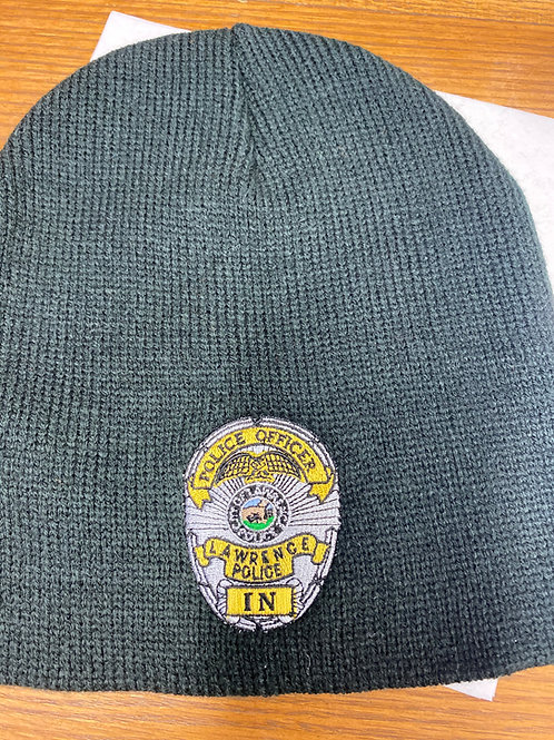 Knit Cap or Beanie w/Badge