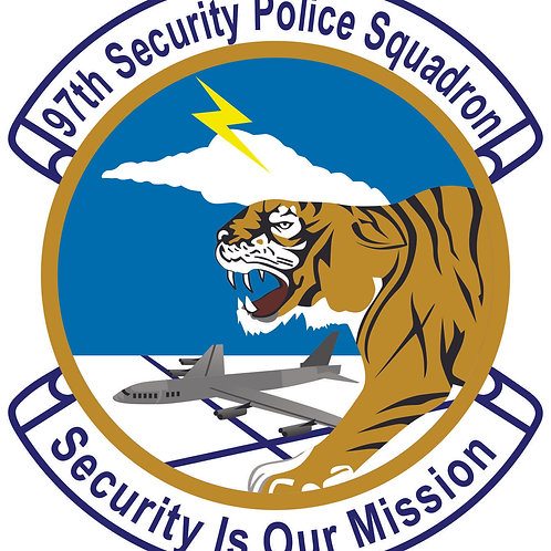 Car decal - 97th SPS (See below for details)
