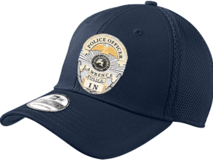 NE1020 Stretch Mesh Cap w/Badge Number