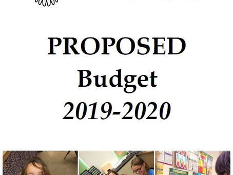Proposed Budget 2019-2020