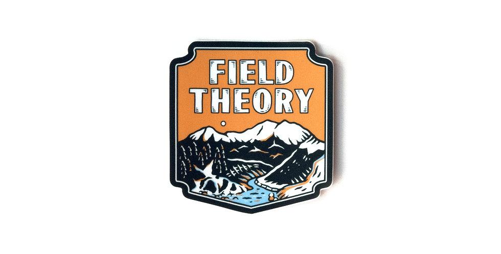 Field Theory Sticker