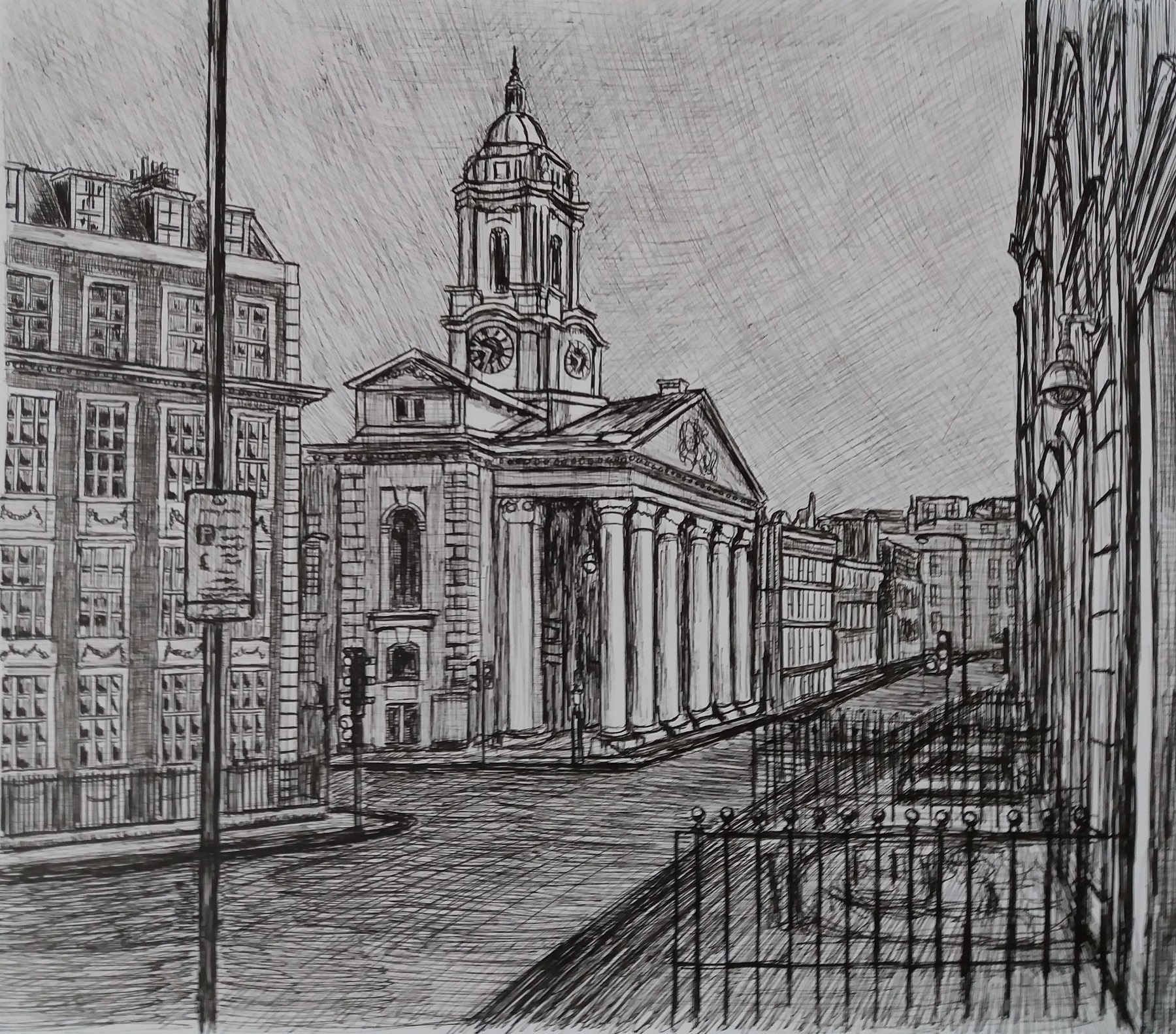Mayfair Street Scene
